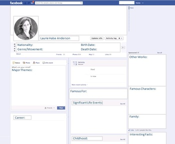 Laurie Halse Anderson - Author Study - Profile and Social Media