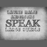 Laurie Halse Anderson's Speak LARGE Bundle
