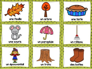 L'automne - Ensemble complet - French Fall