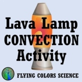 Lava Lamp Convection Activity Worksheet MS-PS3-3 MS-PS3-4 MS-PS3-6