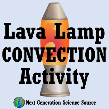 Lava Lamp Convection Activity (middle school) MS-PS3-3 MS-PS3-4 MS-PS3-6