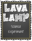 Lava Lamp Science Experiment - Easy for any grade level!