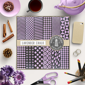 Chalkboard Background, Lavender Chalkboard Digital Paper
