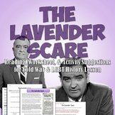 Lavender Scare Reading - LGBT and Cold War History Activity