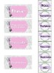 EDITABLE Lavender and Marble Teacher Toolbox Labels