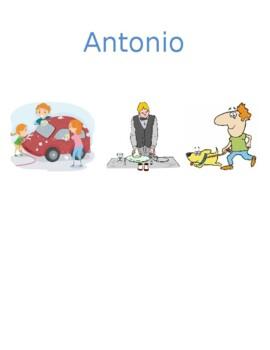 Lavori di casa (Chores in Italian) Detectives Speaking activity