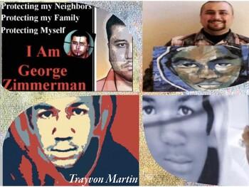 Trayvon Zimmerman ~ Murder ~ Self Defense ~ Vigilante ~ Gun Carry ~ 59 Slides