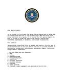 Law Class- FBI Organized Crime Project