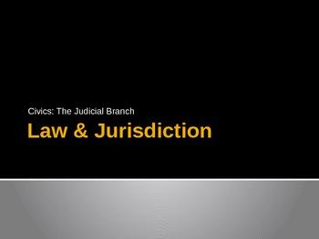 Law & Jurisdiction - Powerpoint