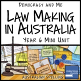 Law Making in Australia (Year 6 HASS)