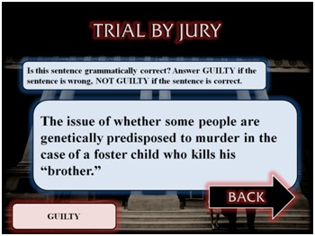 Law & Order: Sentence Structure Unit - Fun Test-Prep Review Game