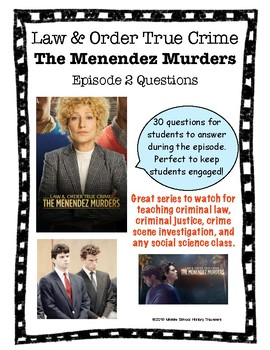 Law & Order True Crime: Menendez Murders Mini Series Episode 2 Questions