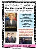 Law & Order True Crime: Menendez Murders Mini Series Episodes & Materials Bundle