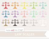 Law Scales Clipart; Lawyer, Justic, Court, Judge, Measuring Scales