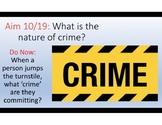 Law Unit 2 - Crimes Defenses Arrest