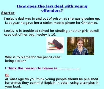 Law: Young Offenders