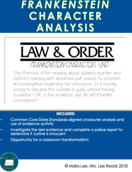 Law and Order: Frankenstein Characters Unit