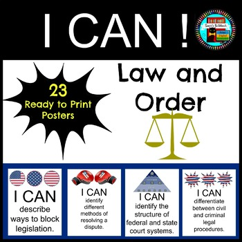 Law and Order I CAN