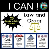 Law and Order I CAN Posters