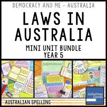 Law in Australia - Mini Unit Bundle