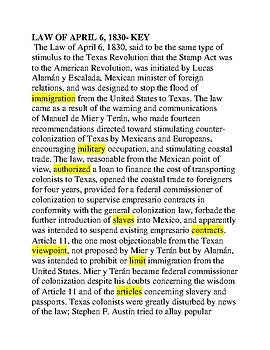 Law of April 6th -- CLOZE Reading