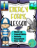Law of Conservation of Energy Printable Lesson | Distance Learning