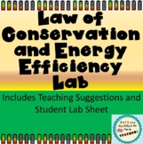 Law of Conservation of Energy and Efficiency Hands On Lab
