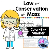 Law of Conservation of Mass: Color By Number