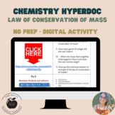 Law of Conservation of Mass HyperDoc