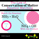Law of Conservation of Mass Matching