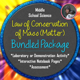 Law of Conservation of Mass (Matter) Bundled Package