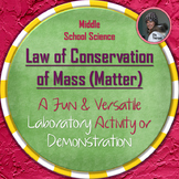Law of Conservation of Mass (Matter) Lab or Demonstration Activity