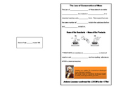 Law of Conservation of Mass - Notes and Demonstration