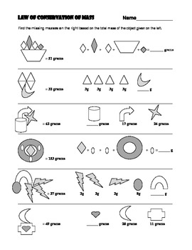 law of conservation of mass worksheet free worksheets library download and print worksheets. Black Bedroom Furniture Sets. Home Design Ideas