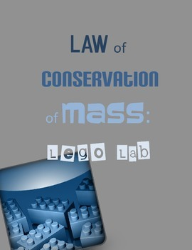 Law of Conservation of Mass (matter) Lego Lab PDF (lego colors pre-filled in)