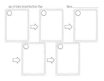 Law of Cosine Around the Room Maze