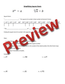 Law of Cosine Guided Notes and Powerpoint