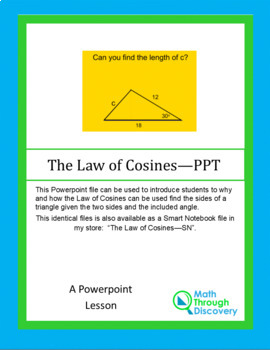 Law of Cosines - PPT