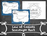 Law of Cosines Scavenger Hunt