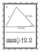Law of Cosines Walk Around Activity - Solving Oblique Triangles