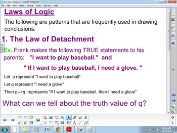 Law of Detachment, Law of Disjunctive Inference
