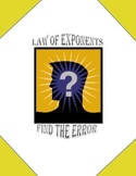 Find the Error - Law of Exponents