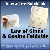 Law of Sine and Law of Cosine Foldable~ For Oblique Triangles
