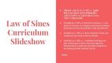 Law of Sines Curriculum Slideshow