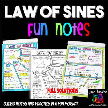 Law of Sines Doodle Notes