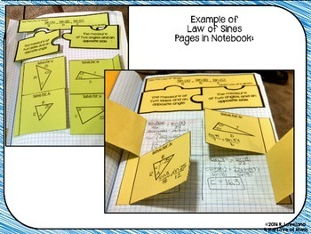 Law of Sines: Interactive Notebook Pages