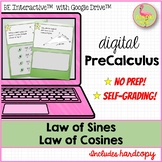 Law of Sines & Cosines Sum Up Activity for Google Slides™