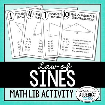 Law of Sines Math Lib