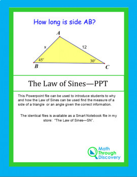 Law of Sines - PPT