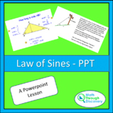 Geometry - Law of Sines - PPT